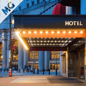 Muzyka w Hotelu, lobby, korytarzach, windach